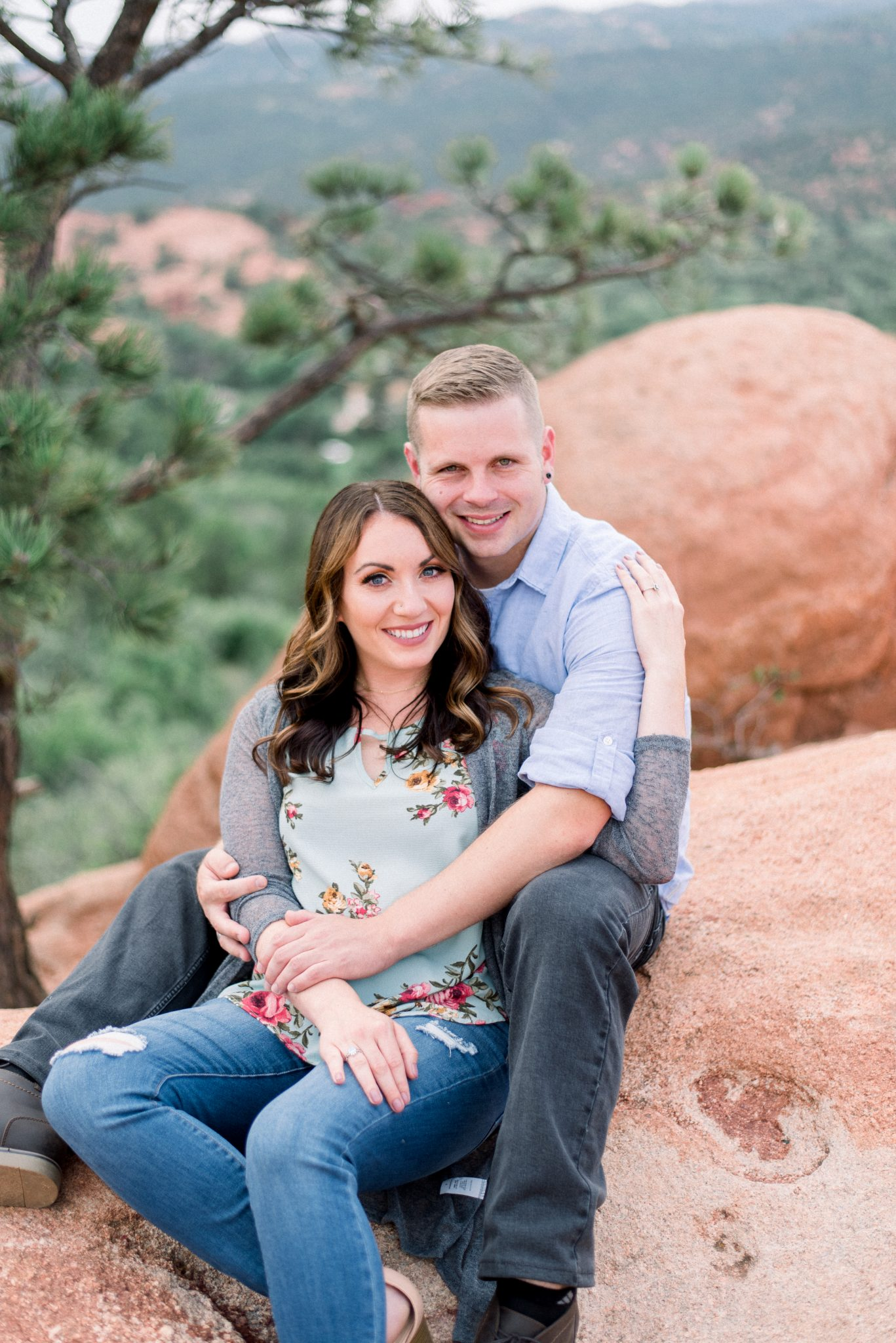 Garden of the Gods Engagement Session 2