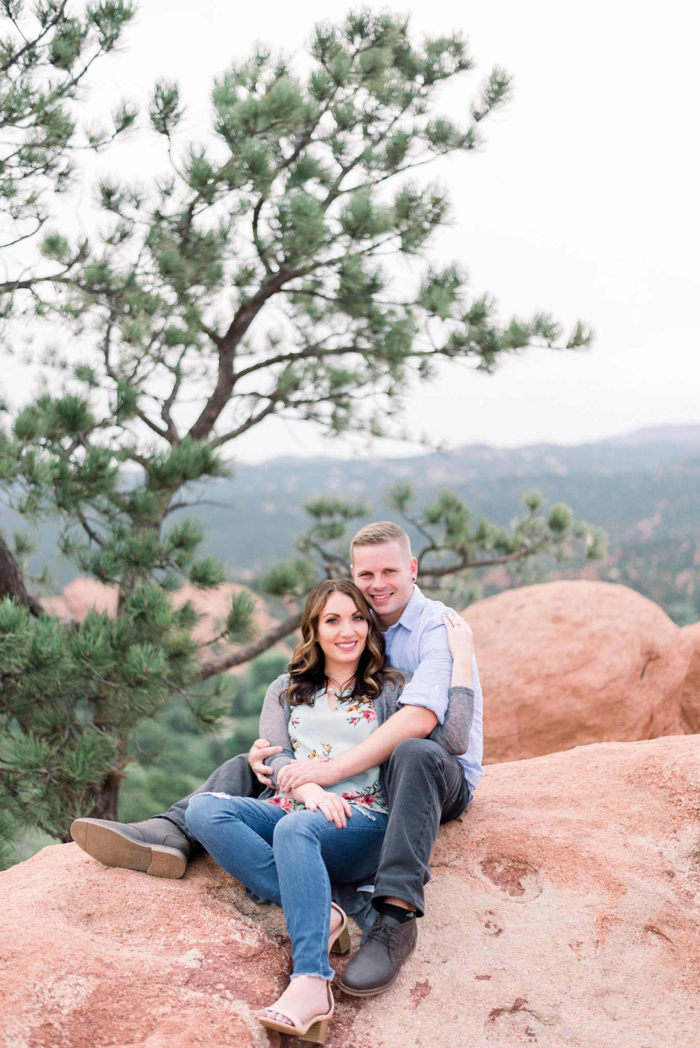 Garden of the Gods Engagement Session 3