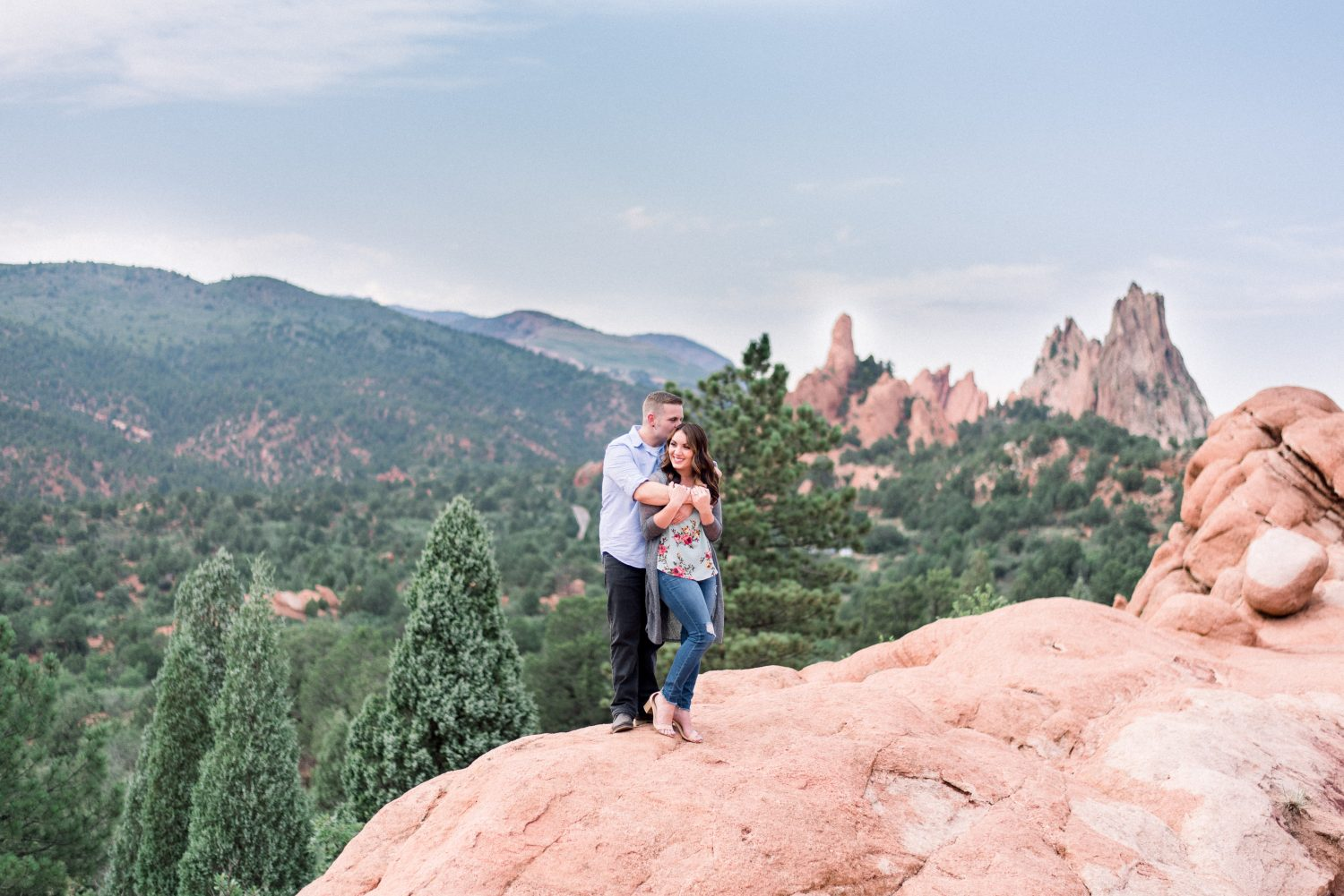 Garden of the Gods Engagement Session 4