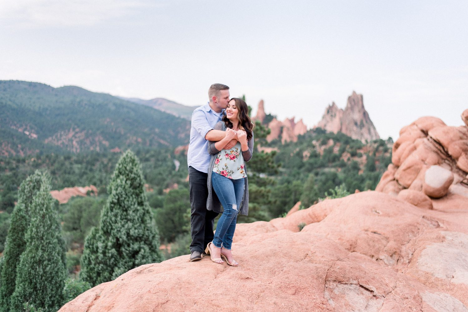 Garden of the Gods Engagement Session 5