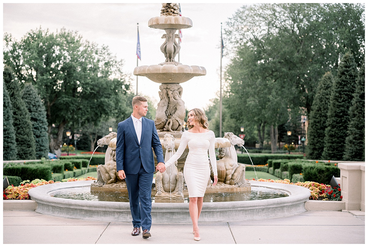 Broadmoor Hotel in Colorado Springs Engagement Session