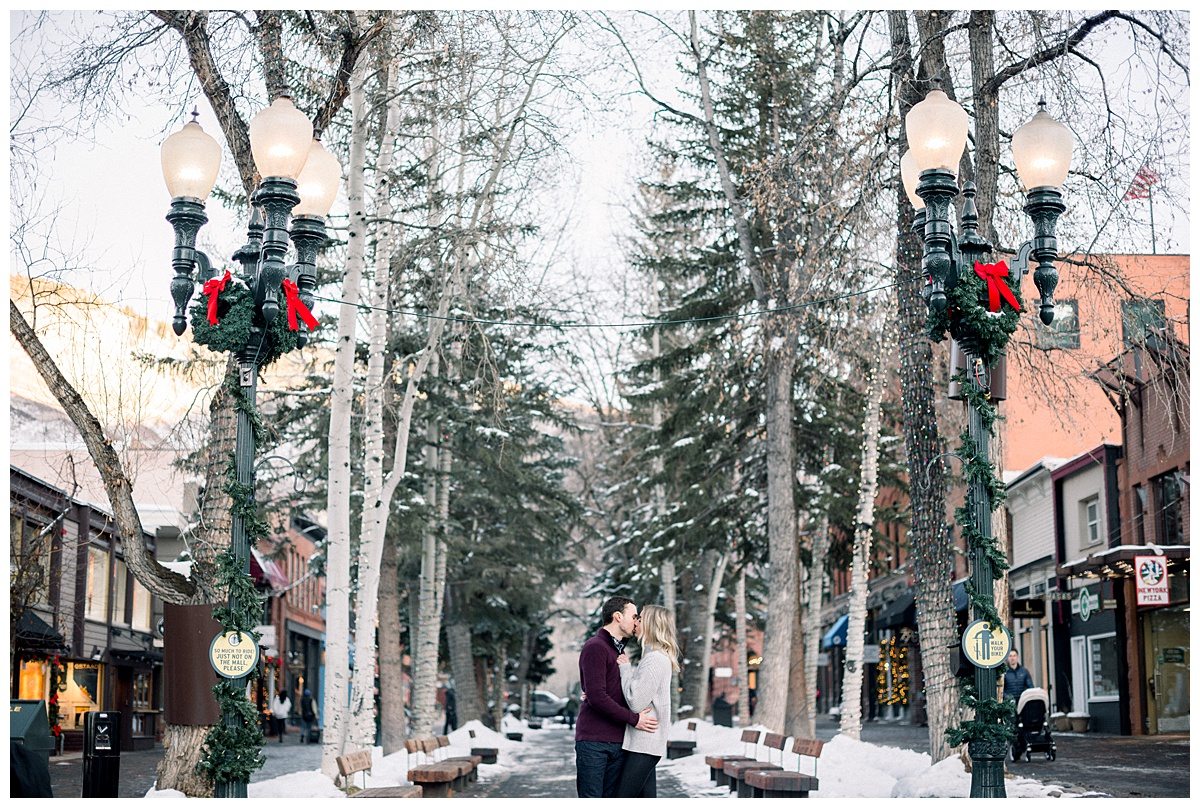 Maroon Bells in Aspen Colorado Engagement Session